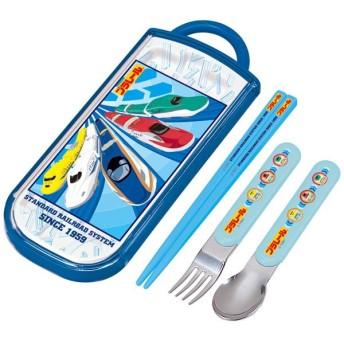 プラレール 箸 /  食洗機対応スライド式トリオセット プラレール18 名入れスペース付お箸 「3個までネコポス」