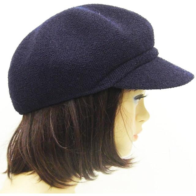 キャスケット - SHES COMPANY 涼しく快適に過ごせる ポリエステル シンプルなブークレキャスケット帽