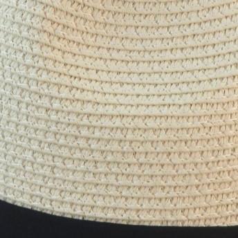 麦わら・ストローハット・カンカン帽 - SUNY PLACE ミーチュアルブレード中折れ [CS7-053] M/Lサイズ【折りたたみ可能】 帽子 女子 メンズ レディース アウトドア 紫外線対策 uvケア 春夏 カジュアル 日除けリボン カップル ペア ハット hat