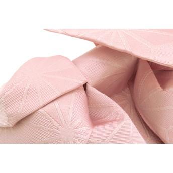 浴衣・着物の帯 - SOUBIEN 作り帯 ブランド Jouer etecouleur ベビーピンク 麻の葉 リボン りぼん 浴衣帯 結び帯 付帯 つくり帯 浴衣向け 日本製