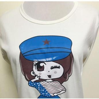 Tシャツ - Miniministore tシャツ レディース カットソー イラスト 秋冬 トップス 長袖 派手 人気