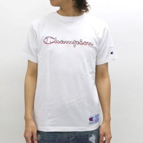 Tシャツ - MARUKAWA チャンピオン Tシャツ メンズ 夏 メッシュ ロゴ 刺繍 半袖 ホワイト/ブラック/ネイビー M/L/XLC3-K349【ティーシャツ アクションスタイル アメカジ スポーツ】