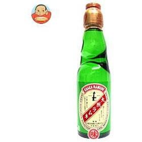 【送料無料】【2ケースセット】 大川食品工業  大阪ラムネ  200ml瓶×30本入×(2ケース)