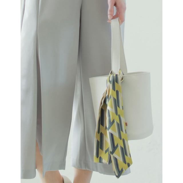 スカーフ - Re: EDIT バッグや首もとのアクセントに マルチパターン柄スカーフ グッズ/ストール・マフラー