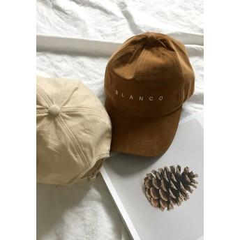キャップ - gogosing 【GOGOSING】BLANCOコーデュロイキャップ★レディース帽子 レディース帽子 キャップ 野球帽 ベースボールキャップ ハットカジュアル帽子 シンプル トレンド雑貨 流行 韓国ファッション p000civh