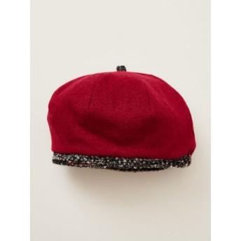 帽子全般 - チャイハネ 【チャイハネ】ウール混シンプルベレー帽
