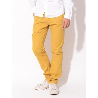 パンツ・ズボン全般 - BIRIGO リーバイス カジュアル メンズ チノパン LEVIS 55691-00L37 チノ トラウザー フラップデザイン ノータックゴールドイエロー カラーパンツ 微起毛 ボタンフライ おしゃれ