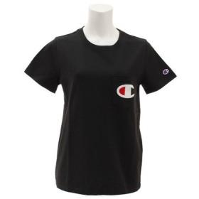 チャンピオン-ヘリテイジ(CHAMPION-HERITAGE) 【オンライン特価】【ゼビオグループ限定】 胸ポケット付き 半袖Tシャツ CWSM373 090 (Lady's)