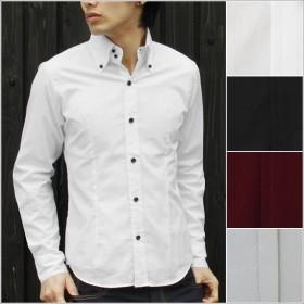 シャツ - SPUTNICKS SPUTNICKS(スプートニクス)日本製ブロードデュエボットーニボタンダウン長袖シャツ Shirt syatu