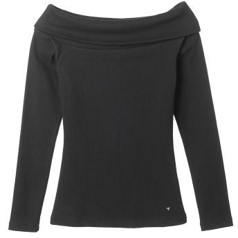 Tシャツ - GUESS【WOMEN】 [GUESS] L/S OFF SHOULDER BORDER TEE