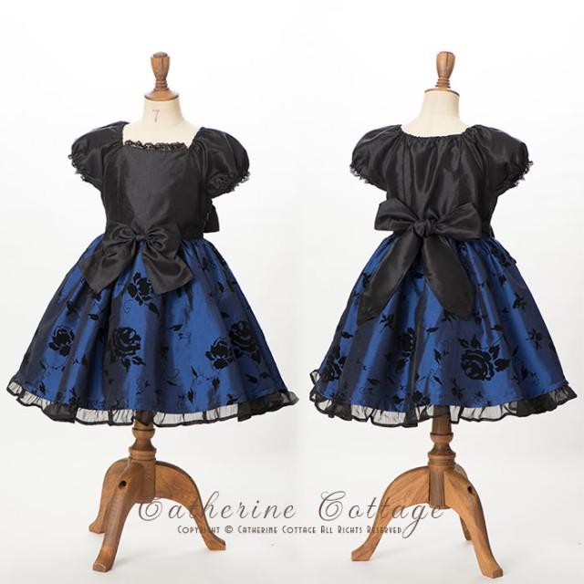 6419079a421a3 ワンピース - Catherine Cottage 子供ドレス フォーマル ローズフフロッキープリントワンピース  120 130 140