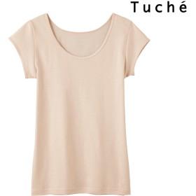 インナー・下着全般 - GUNZE インナー Tuche トゥシェ INTIMATE 着るコスメ 綿100% フレンチ袖 TC4052 インナーウェア