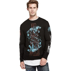 Tシャツ - GUESS【MEN】 [GUESS] L/S GRAPHIC CREW TEE