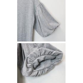 Tシャツ - and Me 【G-12】Tシャツ レディース カットソー バルーン バルーン袖 バルーンスリーブ ゆるてろ トップス