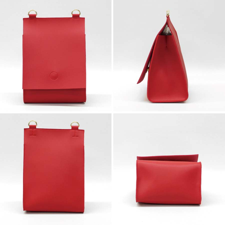 【Scout Extra Large Zip Top Pouch】 ダグネドーバー ポーチ Clay Red DAGNE DOVER レディース