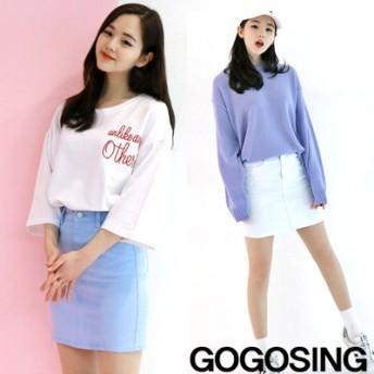 ミニスカート - gogosing 【GOGOSING】パステルトーンHラインスカートP000BUJN