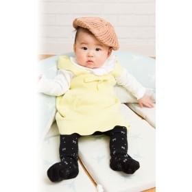ベビーウェア - Sweet Mommy オーガニックコットン100%ベビー スカラップニットスカート【ベビー】《親子リンクコーデ/ベビーウェア/子ども服/ニットスカート/コットンニット/スカラップ/70cm/80cm/90cm/100cm/110cm/120cm/女の子》