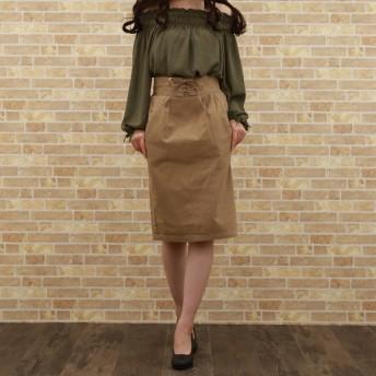 タイトスカート - honey on days ウエストレースアップタイトスカート