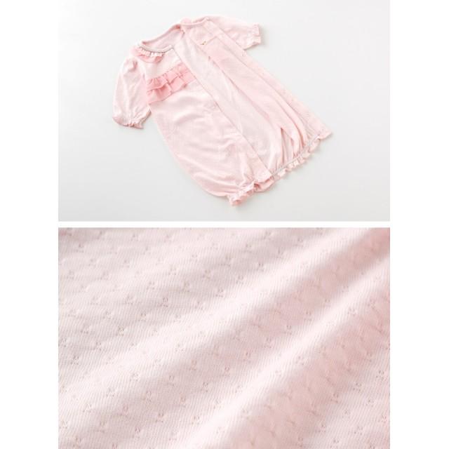 b9ccdaab0ffd2 ベビーウェア - chuckleBABY ティノティノ 新生児 ベビー服 女の子 カバーオール ツーウェイオール 春 夏 出産祝い ギフト