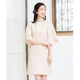 ドレス - tsukotarii 袖透けレースパーティードレス【ellerie (エルリエ)】 / D_12