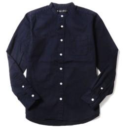 シャツ - SPUTNICKS シャツ メンズ バンドカラー スタンドカラー オックスフォード オックス 春夏 メンズファッション UPSCAPE AUDIENCEアップスケープオーディエンス