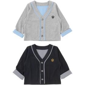 ベビートップス - chuckleBABY ティノティノカーディガン赤ちゃん 服 ベビー服 羽織りアウター 保育園 チャックルベビー