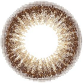 1日タイプ - カラコン専門店MORECONTACT 度あり10枚 チョコタルト フランミー FLANMY DIA:14.5mm 佐々木希 ワンデー カラコン カラーコンタクトレンズ