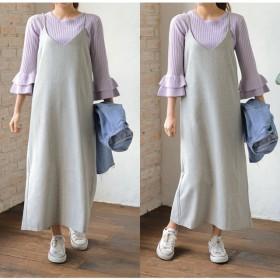 ニット・セーター - Re: EDIT 着回しの効く1枚は女性らしいデザインを選んで。 七分袖フリル2WAYリブニットトップス トップス/ニットトップス