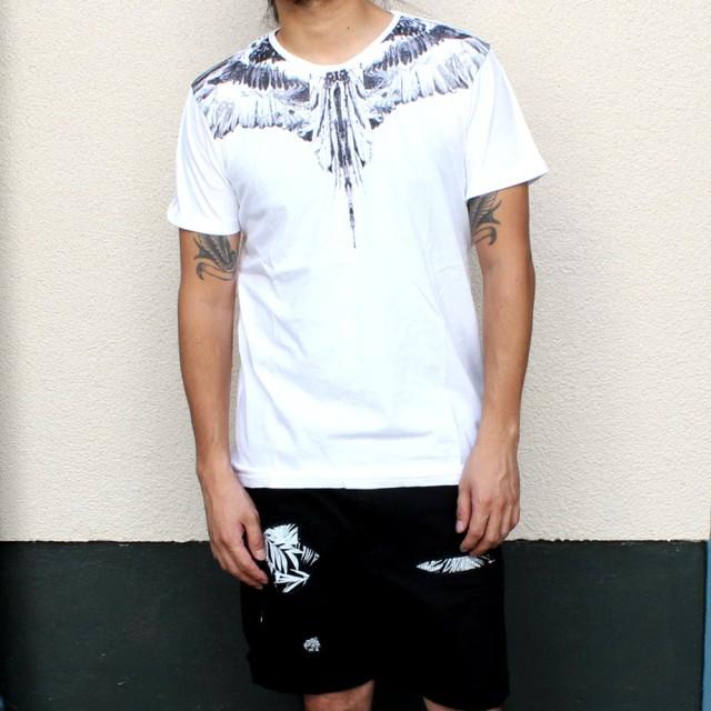 Tシャツ - EYEDY Tシャツ 半袖 半袖Tシャツ トップス メンズ おしゃれ かっこいい 大きいサイズ XL フェザー ネイティブ 青 ネイビー白ホワイトマスタード ビター ビッグシルエット