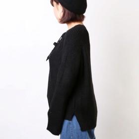 ニット・セーター - sevens 編み上げニット
