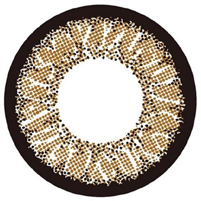 1ヶ月タイプ - カラコン専門店MORECONTACT 度あり1枚 オールドファッション アイドールバイリルムーン EYEDOLL BY LILMOON DIA:14.5mm マンスリーカラコン カラーコンタクトレンズ