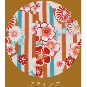 浴衣(女の子用) - Ainokajitsu 子供浴衣 単品 女の子 ゆかた ユカタ 古典 100 110 120 130 紅梅織 モダン レトロ こども 子ども 国内染