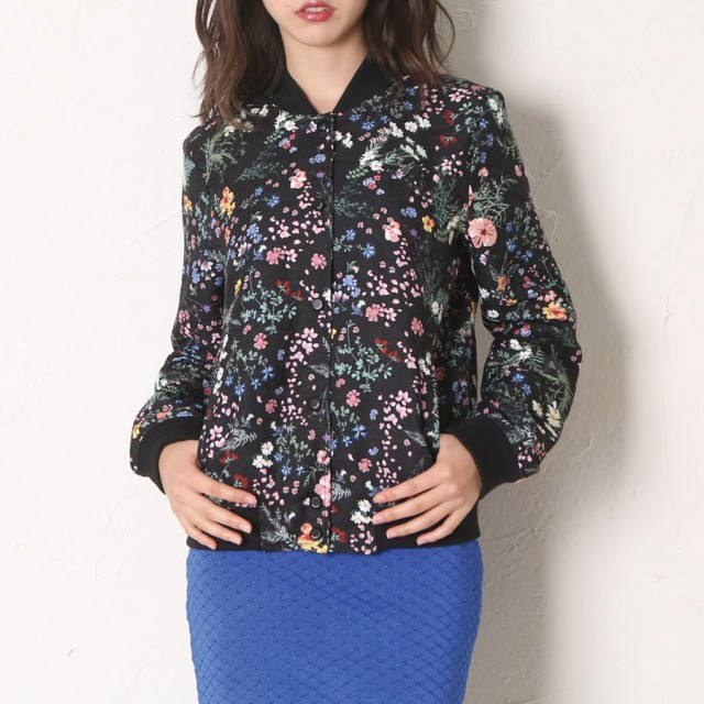 ジャケット・ブルゾン - GUESS【WOMEN】 [GUESS] LADIES FLOWER WOVEN JACKET