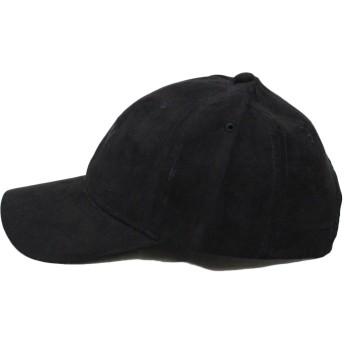 キャップ - CELL NY刺繍キャップ 帽子 ベースボールキャップ ピーチスエード NewYork刺繍
