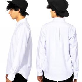 シャツ - 8(eight) オックスフォードシャツ メンズ シャツ全5色 新作 シャツオックスフォード ロング シャツホワイト 白 ブルー青ネイビー8(eight) エイト 8