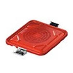アズワン 滅菌コンテナ S用蓋 レッドNC7-4884-017-4884-03