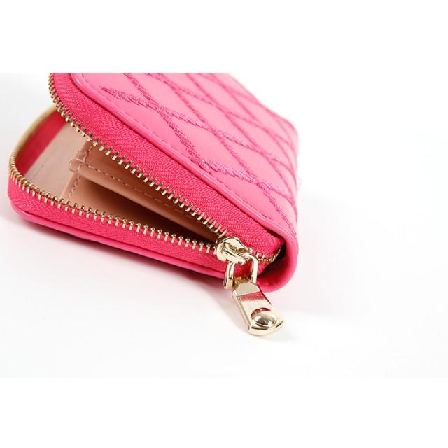3860979b73cd 財布全般 - kirakiraShop ミニ 財布《全8色 ダイヤステッチミニウォレット》財布