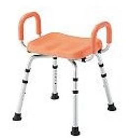 アズワン PUシャワー椅子 (手すり付) HS4430 PC7-4439-01