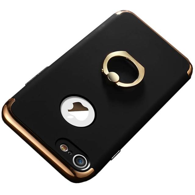 スマホケース - PRIMACLASSE iphone7 ケース リング付き スタンドケース スマホケース カバー 360度 アイフォン フルカバー appleケースリングホルダースタンドケース LING Series 3in1 case For iphone 7 リングシリーズ