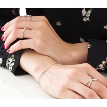 ブレスレット・バングル - CREAM-DOT ブレスレット レディース シンプルチェーン ゴールド シルバー 人気 流行 ブランド ランキング プレゼント アクセサリーアクセギフト