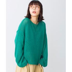 ニット・セーター - WEGO【WOMEN】 リリーヤーンビッグシルエットニット BS18SP01-L010