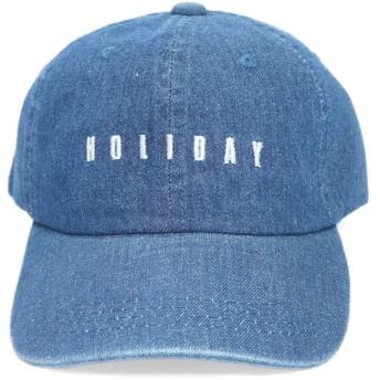 キャップ - KEYS キャップ 帽子 メンズ レディース デニム ウォッシュ加工 大きい ベースボールキャップ ロゴ キーズ Keys-122