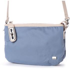 ラ バガジェリー LA BAGAGERIE ナイロンツイルお財布ポシェット (BLUE)