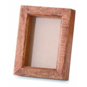 C'est La Vie フォトフレーム フォト マンゴーウッド ガラス W12.5 D12.5(4) H16cm | 写真立て 写真 フレーム フォト 木製 木 ウッド コ