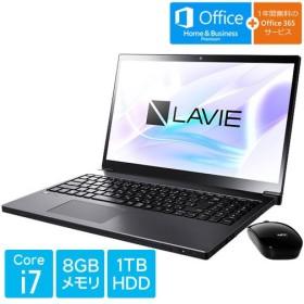 ノートPC PC-SN187BEAC-8 [LAVIE Smart NEXT(Core i7 8GB 1TB DSM 15.6 H&B Win10 グレイスブラックシルバー)]