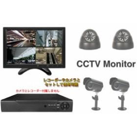 10インチ 多目的液晶モニター HDMI/VGA入力端子 メディアプレーヤー搭載 液晶ディスプレイ ORG-OMT101