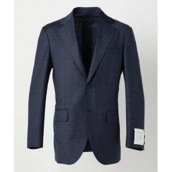 J.プレス メンズ マイクロチェック スーツジャケット メンズ ネイビー系8 A5 【J.PRESS MENS】