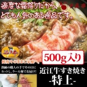 牛肉 すき焼き 近江牛 特上 500g入り お肉ギフト のしOK