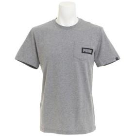 プーマ(PUMA) 【ゼビオ限定】 REBEL ポケット付き Tシャツ 853282 03 GRY (Men's)