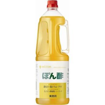 調味料 ぽん酢 ミツカン 1800ml 1本